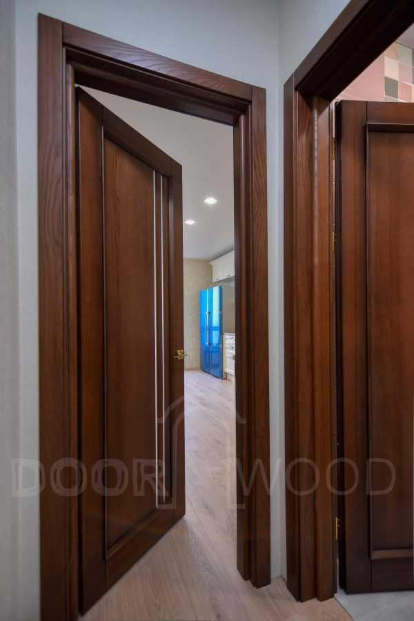 Телескопическая коробка деревянная дверь Монако 1.1