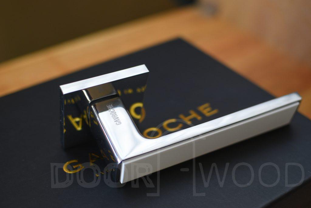 Дверные ручки GAVROCHE фирменный стиль подчеркивает упаковка