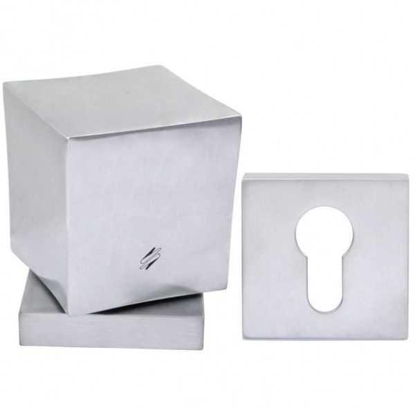 dvernaya ruchka na rozette pod cilindr colombo square lc15 kvadratnaya matovyy hrom 60ecb2bb60c43