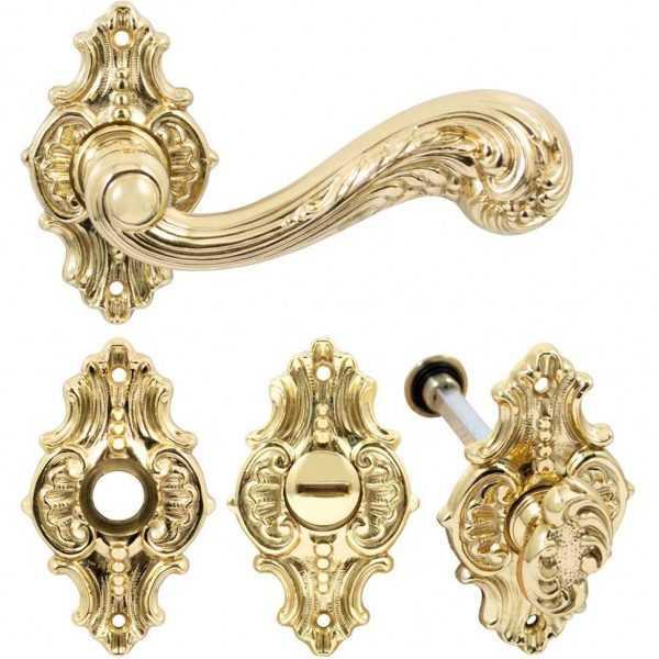 dvernaya ruchka na rozette pod wc enrico cassina c01215 5 polirovannaya latun 60f0a75ec3e24