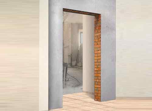 Как замерить проем двери