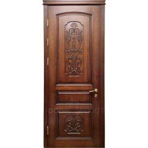 Old Town 5.2 Классическая дверь с резьбой на филенке